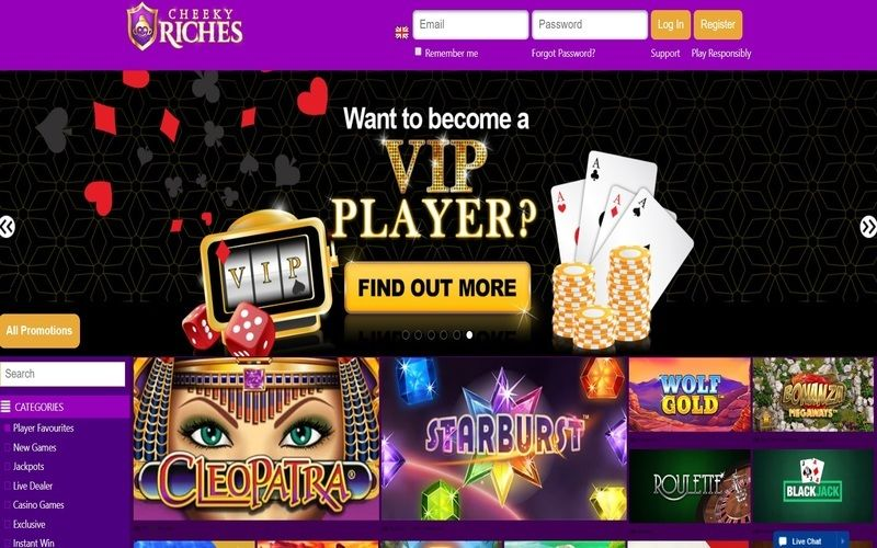 ▷ Play at Cheeky Riches Online Casino
