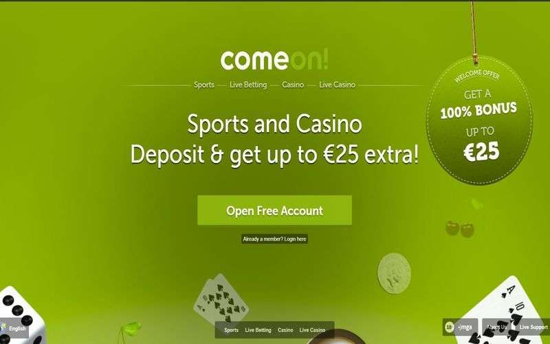▷ Play at Comeon Online Casino