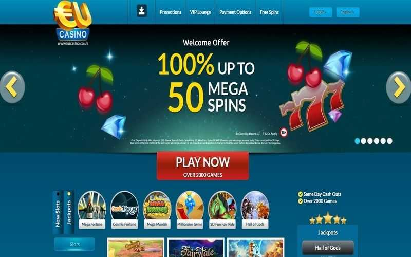 ▷ Play at EU Casino Online Casino