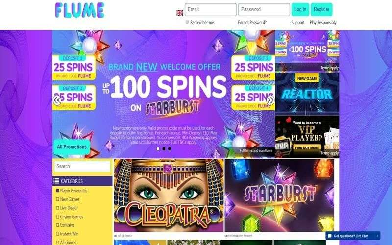 ▷ Play at Flume Online Casino