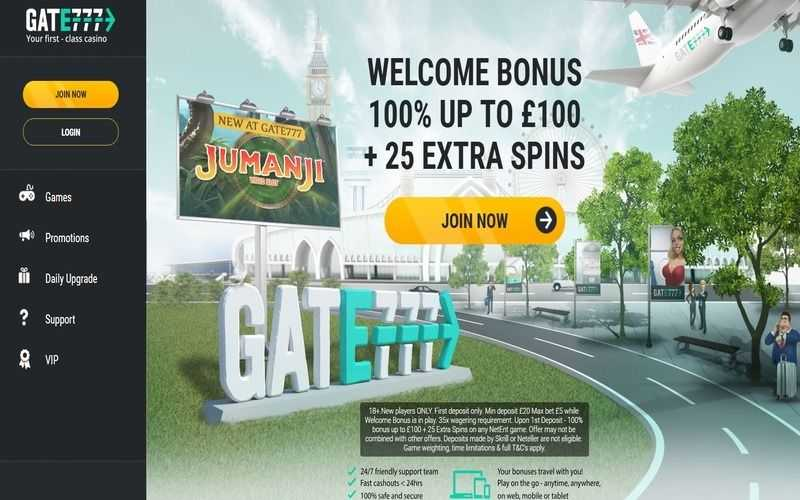 ▷ Play at Gate 777 Online Casino