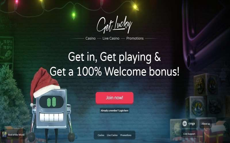 ▷ Play at Get Lucky Online Casino