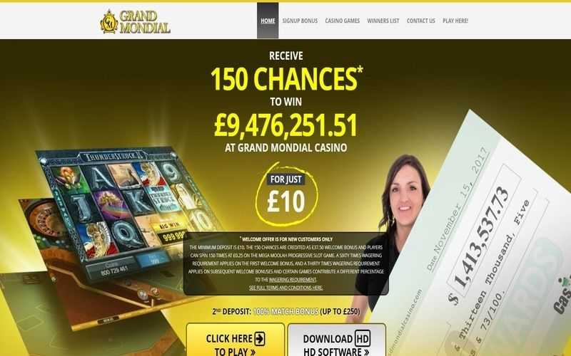 ▷ Play at Grand Mondial Online Casino