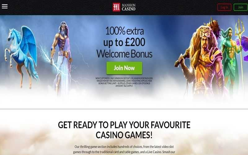 ▷ Play Now at Mansion Live Online Casino