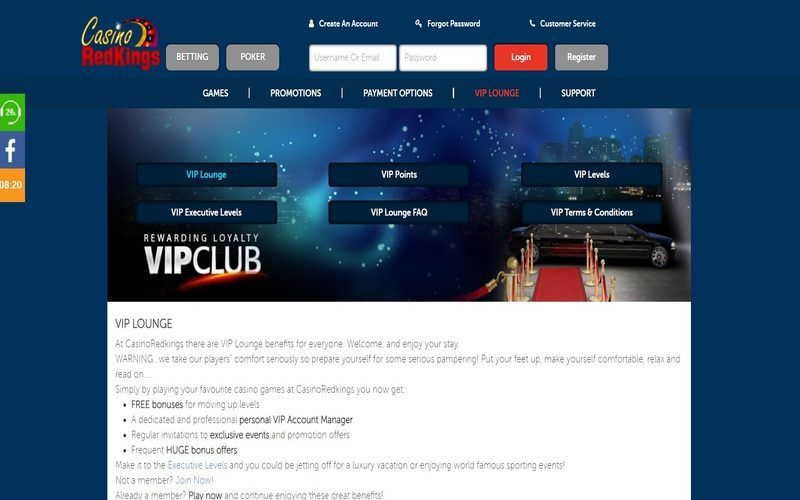 ▷ Play at Red Kings Online Casino