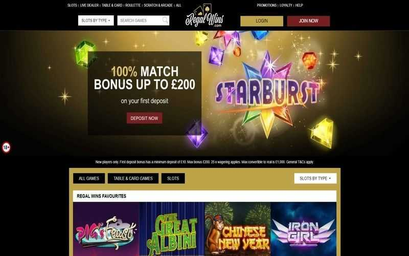 ▷ Play at Regal Wins Online Casino