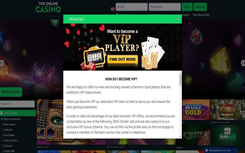 ▷ Play at The Online Casino Online Casino