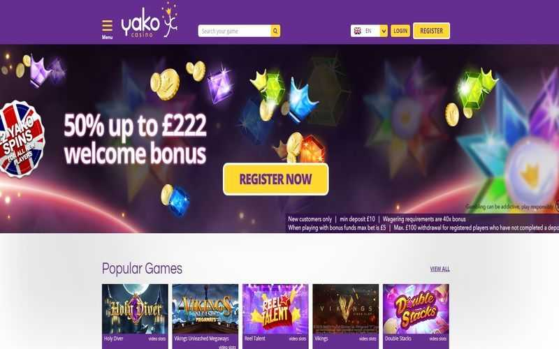 ▷ Play at Yako Online Casino