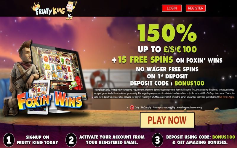 ▷ Play at Fruity King Online Casino