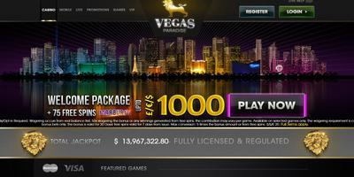 ▷ Play at Vegas Paradise Online Casino