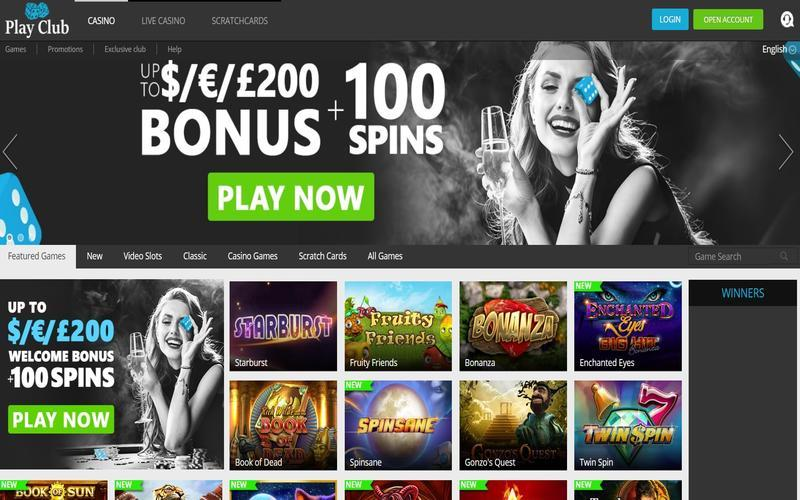 ▷ Play at Playclub Online Casino