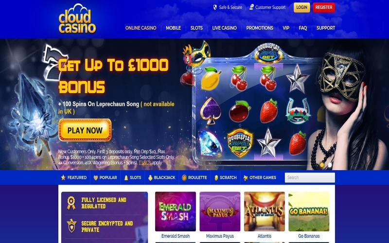 ▷ Play at Cloud Online Casino
